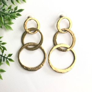Kenneth Jay Lane Gold Earrings